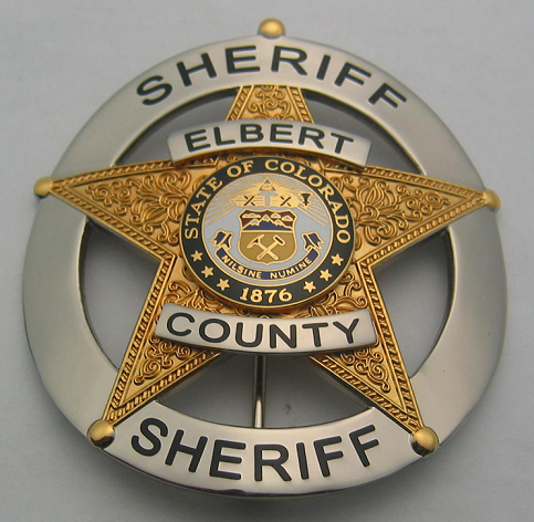 Elbert County Sheriffs Badge